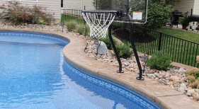 Basketball Net for Pool