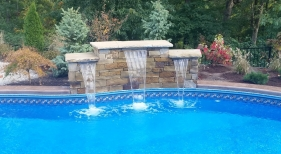 Wildwood-St-Louis-County-stacked-stone-water-feature-sheer-decent-stone-top-landscaping