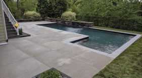 Geometric Gunite Pool