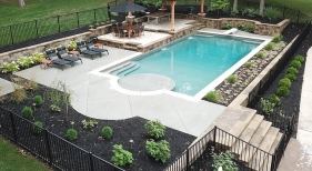 Custom Geometric Pool