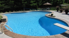 Cool deck diving board volleyball kidney Bridgeton Maryland Heights Clayton Richmond Heights