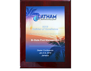 2018 Latham Dealer of Excellence