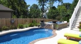 Crystal-fountain-deck-sprayer-grand-effect-fire-bowl-hot-tub-composite-deck-broom-concrete